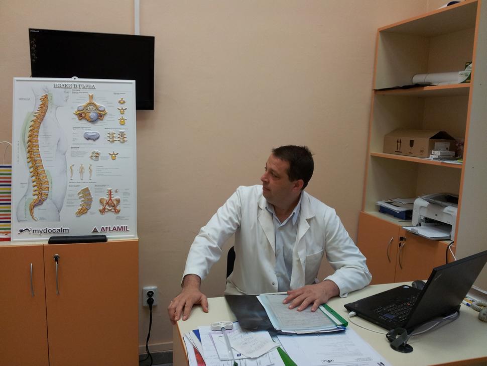 Коксартроза на тазобедрена става болки и оток в коленете